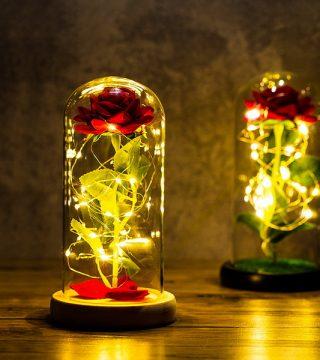 dekorasi lampu tumblr bunga mawar kreasi ruangan makin