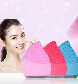 Facial Cleanser Alat Pembersih Wajah Elektrik Model Foreo Luna Dupe