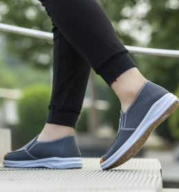 Sepatu Slip On Anti Gerah Anti Ribet dana Ringan