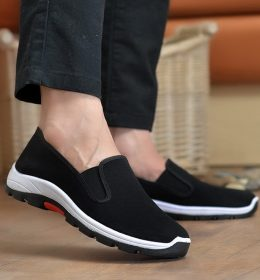 Sepatu Slip On Pria Tahan Aus Anti Bau Keringat