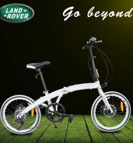 Sepeda Lipat Ringan Asli Import Putih