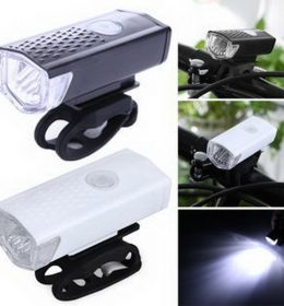 2255 Lampu Sepeda Gunung Night Riding USB Charge
