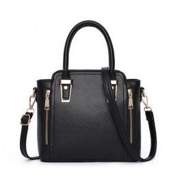Handbag Hitam Double Resleting