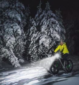Lampu Depan Sepeda Terang Jarak Jauh Bisa Charge