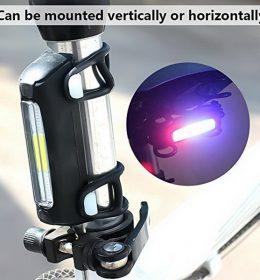 Lampu Sepeda COB USB Lampu Sepeda Gunung Isi Ulang FY-306