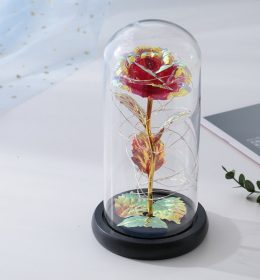 Red Rose Tumblr Lamp