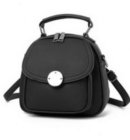 Sling Bag Dual Function Oval Big Button
