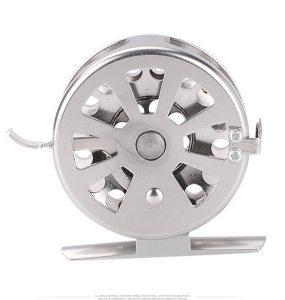 Deukio 50 Full Metal Ice Fishing Reel Dengan Brake Right Hand Reel