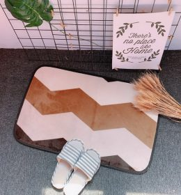 Karpet Dapur Motif Zig Zag