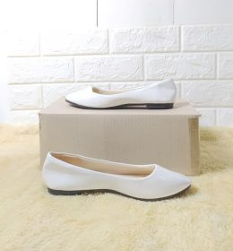 Sepatu Flat Shoes Wanita Ringan dan Elegan