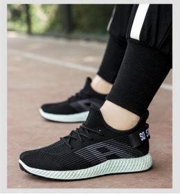Sepatu Import Hitam Tosca Sport Fashion