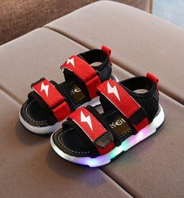Sepatu LED Sepatu Sandal Anak Import