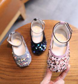 Sepatu Sandal Pesta Anak Perempuan Elegan