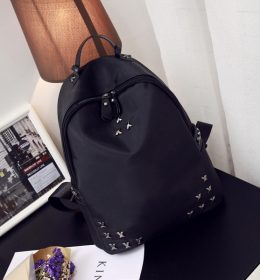 Tas Ransel Backpack Studded Silang