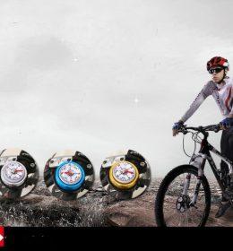 2in1 Bel Kompas Aksesoris Sepeda Paling Laris