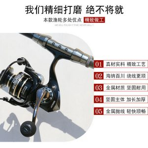 Reel Pancing Deukio Import Model AC6000