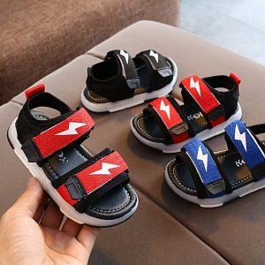 Sepatu Sneakers Anak LED Import