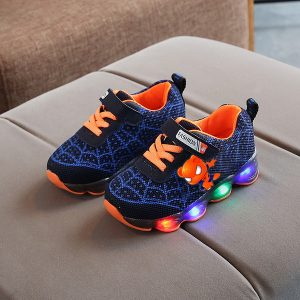 Sepatu Sneakers LED Anak Keren