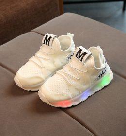 Sepatu Sneakers White Anak Kualitas Import