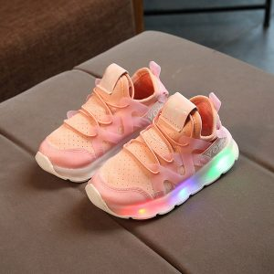 Sneakers Pink Anak Casual