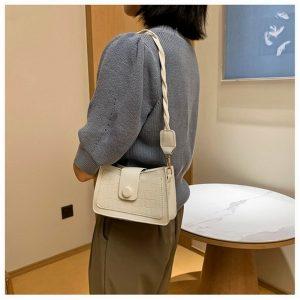 Shoulder Bag Tas Kekinian Ala Korea
