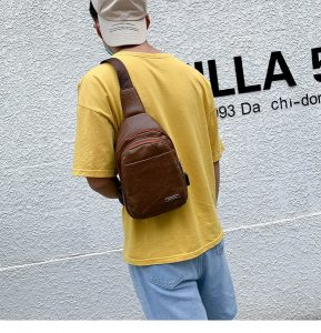 Waist Bag Pria Simple dan Kekinian