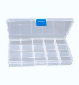 Box Kotak Kail 15 Lubang Transparan