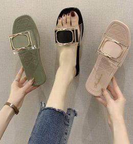 Sandal Flat Ala Korea Trendi dan Simple