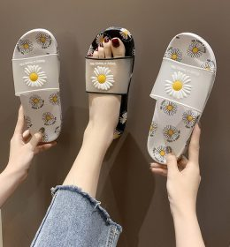 Summer Slipper Sandal Sun Flower