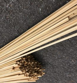 Jeruji Bambu Import 112 cm Diameter 5mm