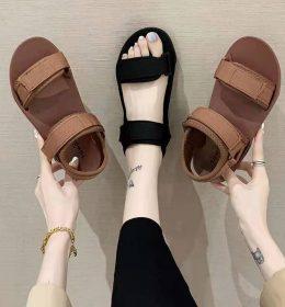 Sepatu Sandal Platform Original